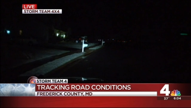 Road Conditions in Frederick County