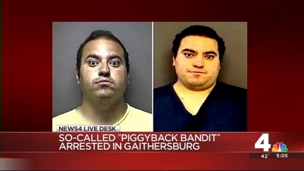 "[DC] ""Piggyback Bandit"" Strikes in Virginia"