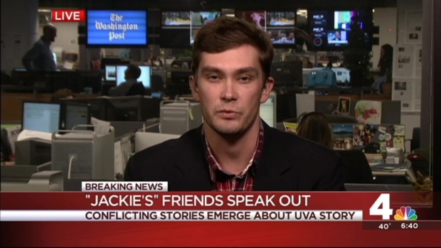"[DC] ""Jackie's"" Friends Offer Different Account of Rolling Stone Rape Story"