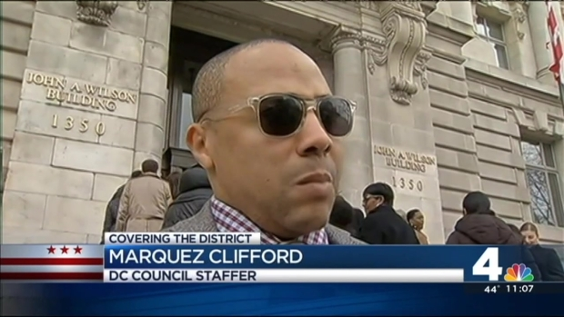 [DC] D.C. Council Staffers Stage Walk Out