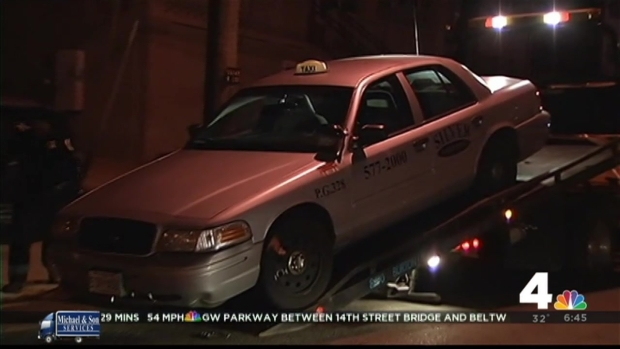 [DC] Man Found Fatally Shot in Md. Cab