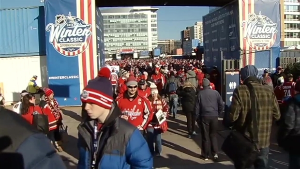 Hockey Fans Enjoy Day of Fun at 2015 Winter Classic
