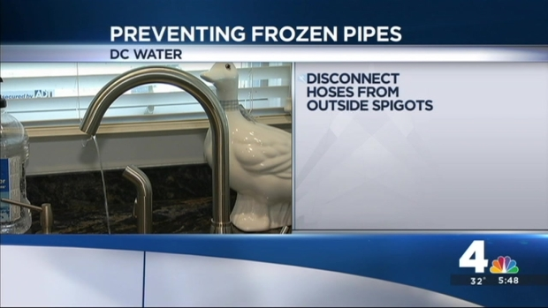[DC] Protect Pipes From Freezing Temperatures