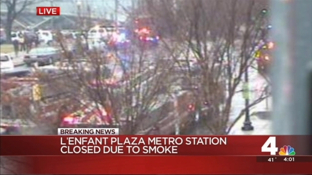 Metro Evacuates L'Enfant Station for Smoke