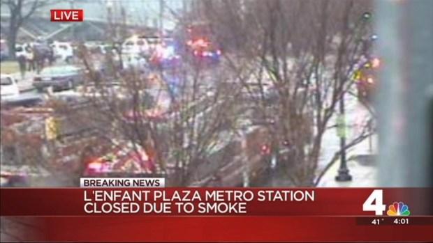 Metro Evacuates L'Enfant Station for Smoke