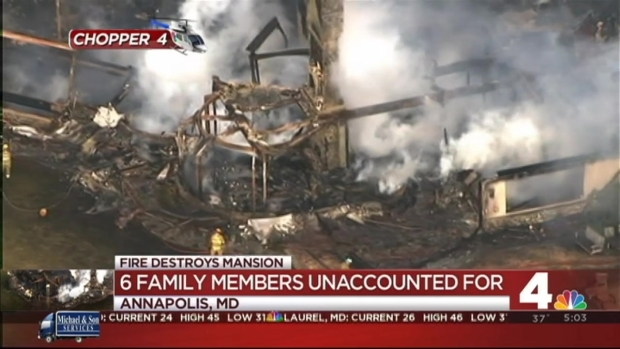 [DC] 6 Unaccounted for Mansion Fire