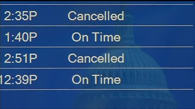 [DC] Travelers at Reagan National Impacted by Delays, Cancellations