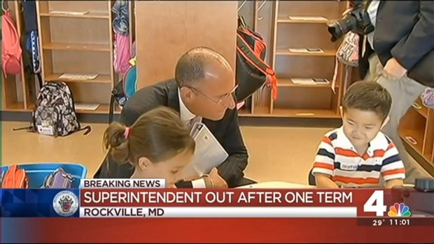[DC]  Montgomery County Superintendent Resigns