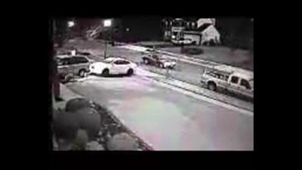 SURVEILLANCE VIDEO: Car Stolen From Beltsville Driveway