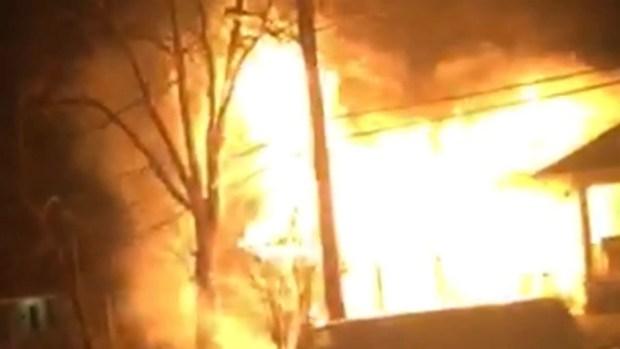 Mt Rainier Fire Home Video