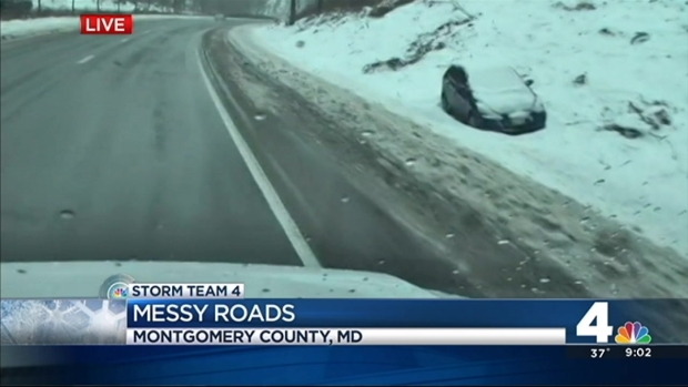 [DC] Sunday Roads Still Messy, Dangerous
