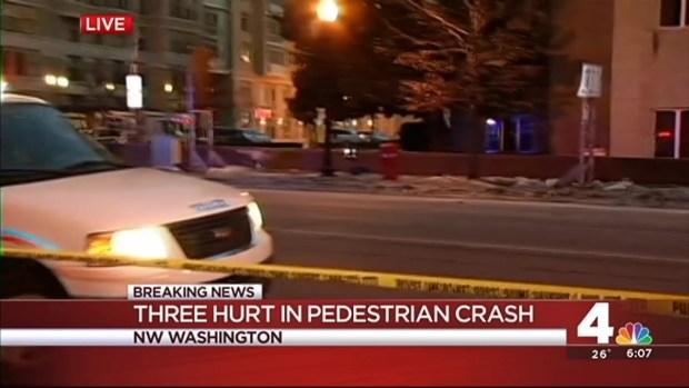 [DC] 3 Injured in DC Crash