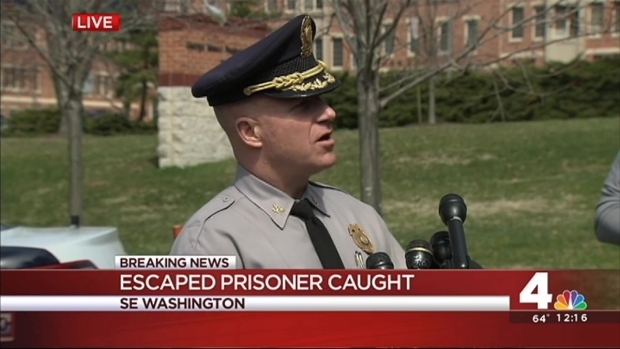 Fairfax County Prisoner; Full Police News Conference