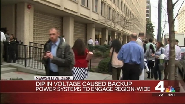 Power Outage Grips D.C., Md.