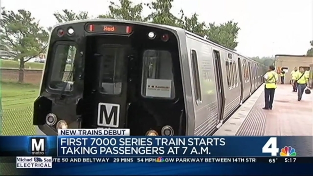 New Metro Cars Go Into Service on Blue Line