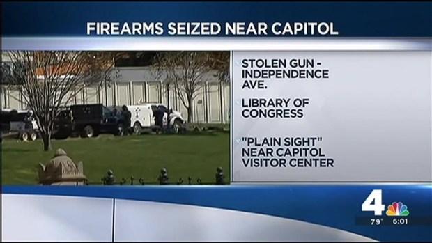 [DC] U.S. Capitol Police Seize Guns Near Capitol