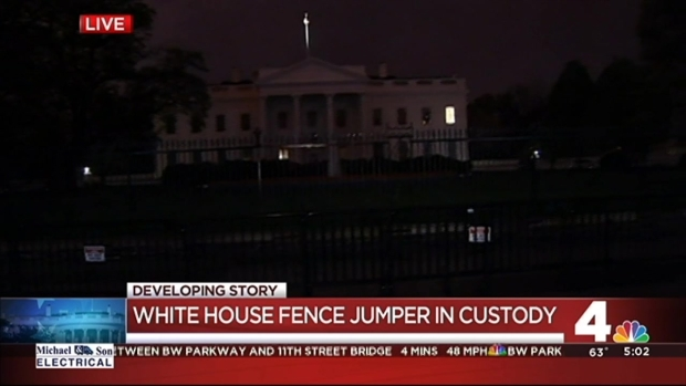 [DC] Person Arrested for Attempting to Scale White House Fence