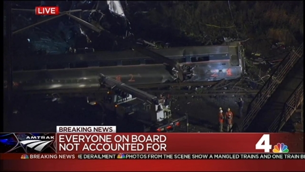 """Devastating"": 5 Dead After Amtrak Train Derails"