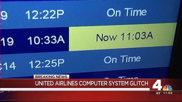 Delays Expected After United Airlines Flights Grounded