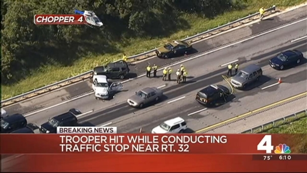 [DC] I-95 Road Closure to Last Past Rush Hour After Trooper Hit