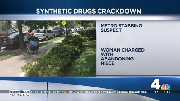 [DC] Crackdown on Synthetic Drugs 'Ravaging' Neighborhoods