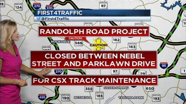 [DC] Traffic Forecast: Randolph Road to Close for a Week