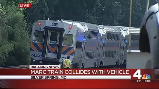 [DC] MARC Train Slams Into Truck in Montgomery Co.