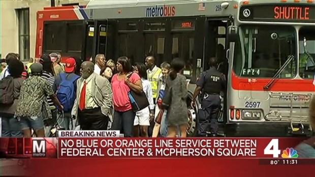 """[DC] Metro Derailment: Damage """"Minor,"""" Disruption """"Major"""""""