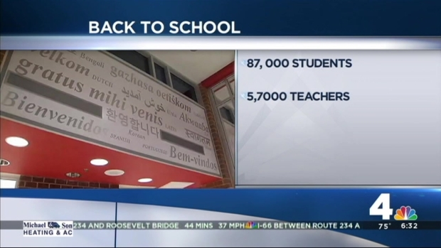 [DC] Prince William County Kids Go Back to School