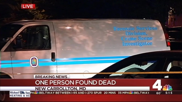 [DC] Body Found Near Bus Stop in New Carrollton