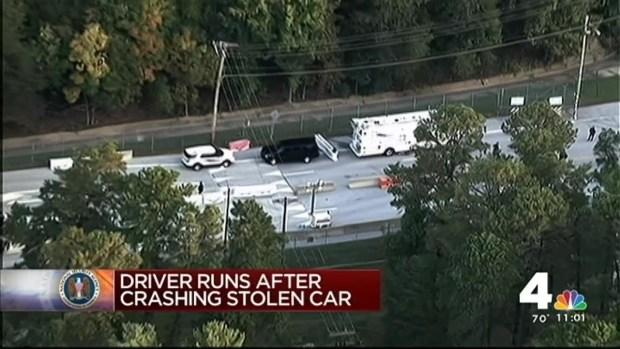 [DC] Police Arrest Man Suspected in Ft. Meade Gate Crash
