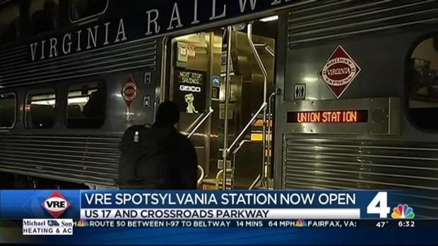 New VRE Station Opens in Spotsylvania