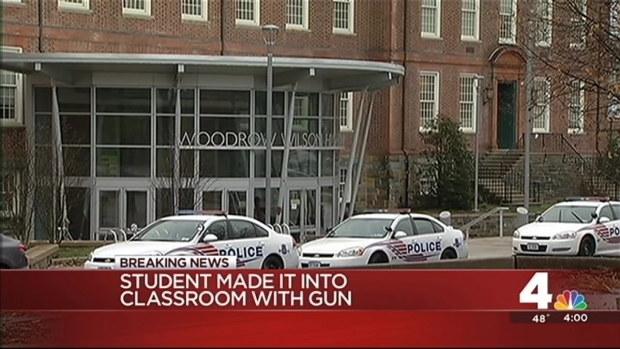 [DC] Gun Found in Student's Backpack at Wilson High School