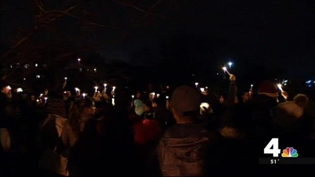 Douglas Reyes Remembered at Vigil a Day After Killing