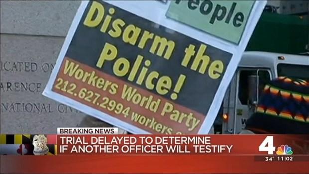 [DC] Trial of Caesar Goodson, Freddie Gray Van Driver, Delayed