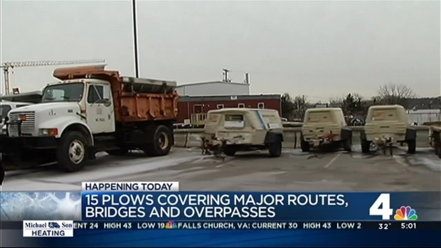D.C. Ready to Respond to Snow