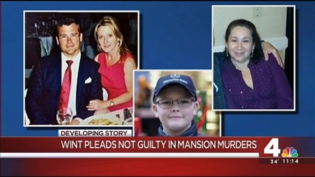 [DC] Suspect Pleads Not Guilty to 20 Felonies in DC Mansion Murders