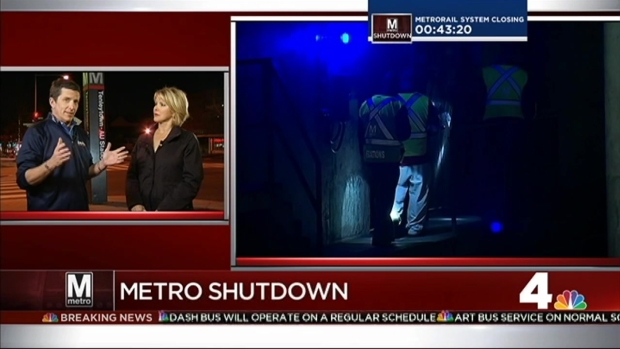 [DC] Metrorail Shut Down Until Thursday Morning
