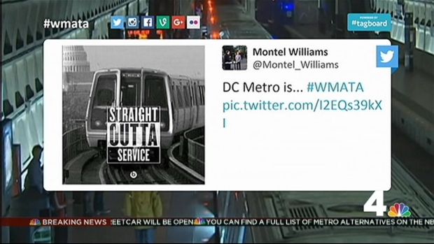 [DC] Would-Be Metro Riders Find Humor in Shutdown