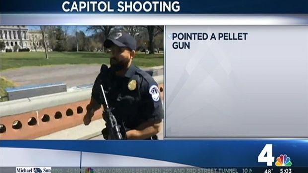 [DC] Capitol Back to Normal Day After Officers Shoot Intruder