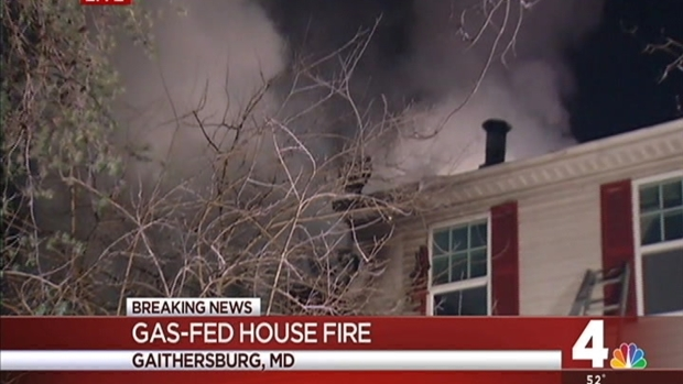 [DC] Two Rescued From Townhouse Fire