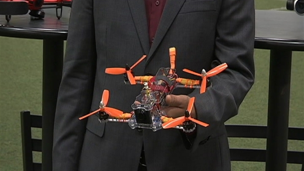[DC] Drone Offered as Door Prize at Saturday Drone Racing Event