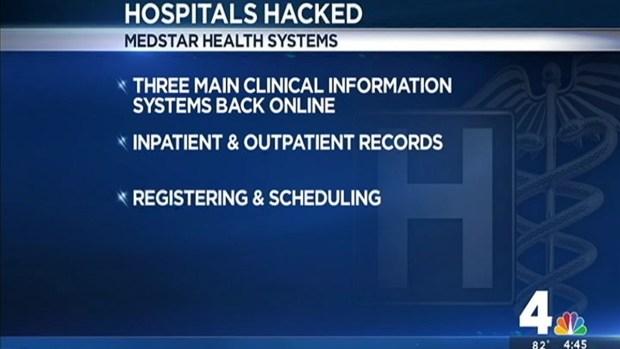 [DC] MedStar: 90 Percent Back Online After Hack