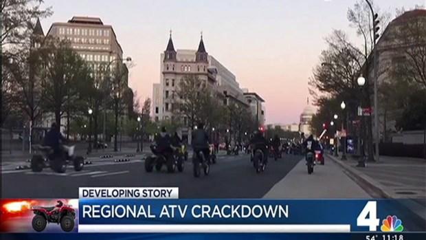 DC Police Crack Down on Dirt Bikes, ATVs