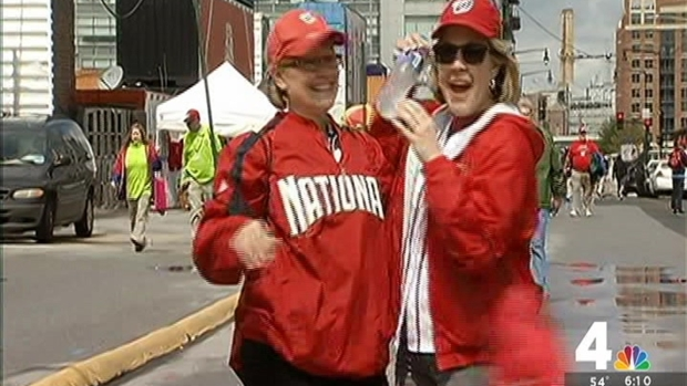 [DC] Nats Fans Psyched For Home Opener