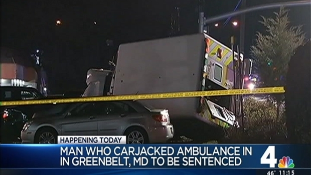 [DC] Man to Be Sentenced in Ambulance Carjacking, Fatal Crash