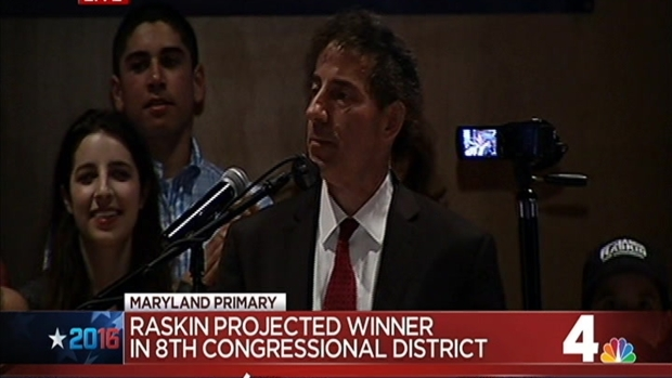 [DC] Jamie Raskin Victory Speech for Md. 8th District