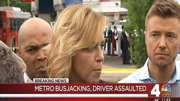 [DC] Hijacked DC Metrobus Hits, Kills Gas Station Man