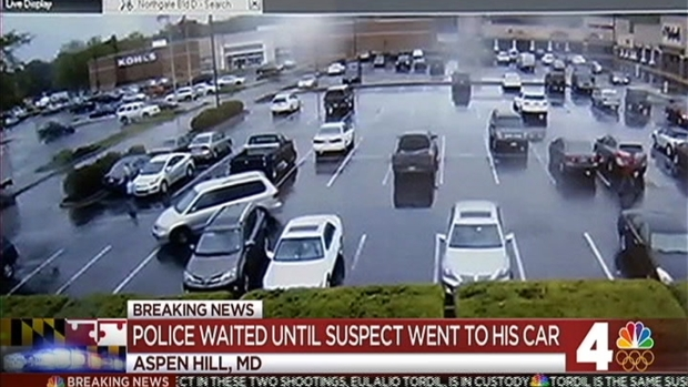 Police Swarm Maryland Shootings Suspect to Make an Arrest