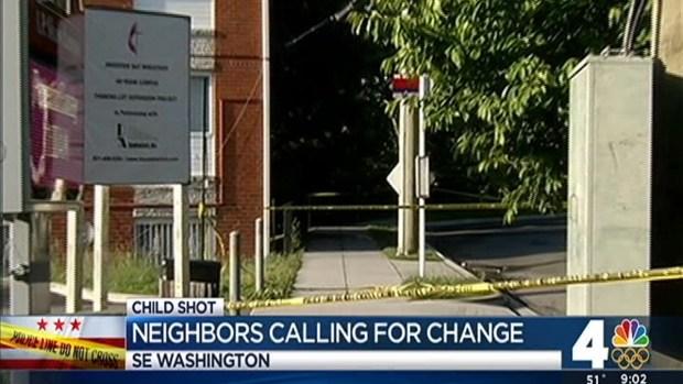 Little Boy Shot on Southeast DC Street
